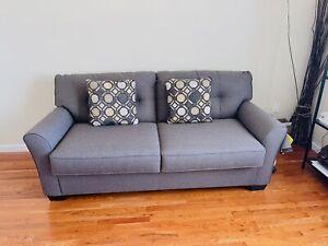 Casey Full sofa bed w/ Memory foam matress