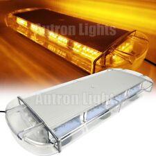 "21"" Light Bar 56W LED Emergency Beacon Strobe Tow/Plow Truck Wrecker Roof Amber"