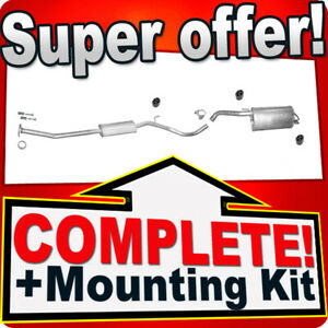 Silencer Exhaust System for NISSAN NOTE 1.4 16V 2006-10.2007