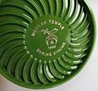 SET of 6 Vtg 1980 SHRINE CIRCUS Ritepoint Contemporary COASTERS, Diff Colors,NOS