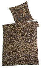 Villa Noblesse Renforce  Bettwäsche Set Leopard 135x200cm 100% Baumwolle