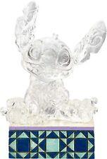 Jim Shore Disney Traditions Stitch the Alien Crystal Clear Figurine NIB Ohana