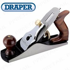 Draper Expert 250mm ADJUSTABLE HEAVY DUTY SMOOTHING PLANE Woodwork + FREE BLADE