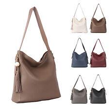 New Fashion Ladies Handbag Women Cross Body Shoulder Bag Tote Faux Leather Purse