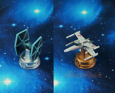 Star Wars Tie Fighter vs X Wing Toy Model Cake Topper Chess Figure K1265 AB