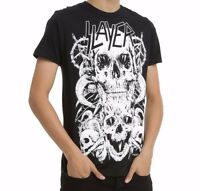 Slayer SKULLS T-Shirt Heavy Metal Band NEW Licensed & Official