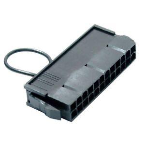 24 Pin ATX Jump Start Netzteil Bridging Stecker Stecker