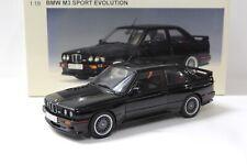 1:18 AUTOart BMW M3 (E30) Sport Evolution black