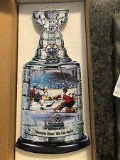 "The ""Jubilant 1985 Edmonton Oilers"" Plate by David Craig (Dominion China)"
