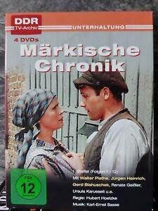 Märkische Chronik -  Staffel 1 - (4 DVD ) DDR-TV-ARCHIV