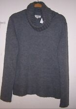 JACOB CONNEXION Ladies Cowl Neck Sweater - Gray - Sz XL - NWT!