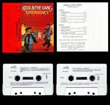KOOL & THE GANG - SPAIN CASSETTE DELITE / RCA 1984 - EMERGENCY - NEW SEALED