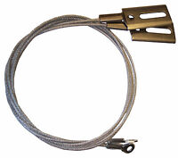 same style as original 1961-1964 Impala SS convertible top side tension cables