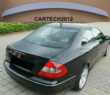 Mercedes CLK W209 Coupe 2002-2009  Boot Spoiler PRIMED, tuning