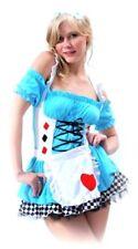 Sexy Alice In Wonderland Story Book Week Ladies Fancy Dress Up Costume