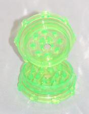Dente di squalo Acrilico Herb GRINDER CON MAGNETE [Verde] 52mm di diametro