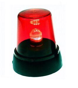 LED PARTY ROTLICHT SIGNAL RUNDUMLEUCHTE WARN LEUCHTE LAMPE PARTYLICHT ROT NEU