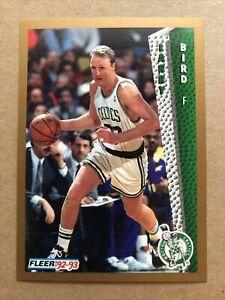 1992-93 Fleer #11 Larry Bird Boston Celtics Basketball Card