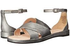 Rockport by Adidas Black Silver Leather Jaeliah Ankle Strap $123.00 Size 10 NIB