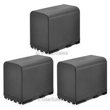 3X BP970G 7800mAh Replacement Battery Canon XL1 XL-1S XL1S XL-2 XL2XL-H1 XLH1 H1