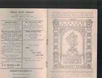 Hamlet Program May 7 1915 Farewell of Johnston Forbes-Robertson Lyceum Theatre