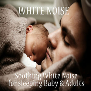 WHITE NOISE SLEEP AID CD -SOOTHING SOUNDS FOR BABIES & ADULTS TINNITUS FREE PP