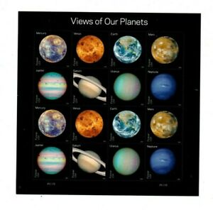 A fantastic mint United States 2016 Views of our Planets Sheet
