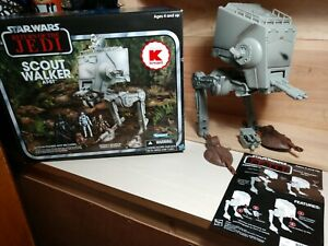 Star Wars Vintage Collection 2012 Only At K-Mart Scout Walker AT-ST Kenner ROTJ