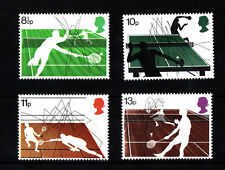 GB MNH STAMP SET 1977 Racket Sports SG 1022-1025 UMM