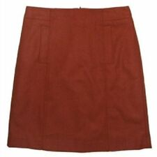 Jacqui E Denim Machine Washable Regular Size Skirts for Women