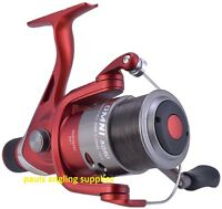 Shakespeare Omni 050 Feeder/ Carp  Fishing reel with Line