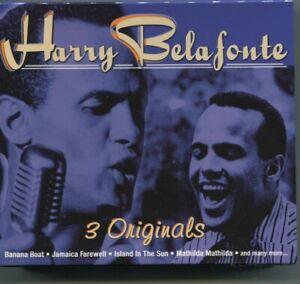 3CD Harry Belafonte: 3 Originals (Ariola Express) 2001