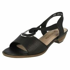 Leather Ankle Strap Slip On Sandals & Flip Flops for Women