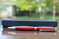 Handmade Bloodwood Pen/ Gold Hardware