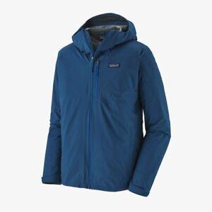 Patagonia Rainshadow Jacket Mens Superior Blue size Medium New
