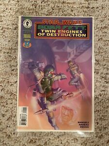 Star Wars Boba Fett Twin Engines of Destruction, Dark Horse 1997 Comic