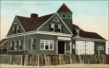 Coast Guard: U.S. Life Saving Station, Hampton Beach, NH. Pre-1915.