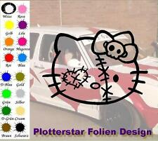 Kitty Zombie nr3 JDM Sticker Aufkleber oem PS Power fun Shocker Fun