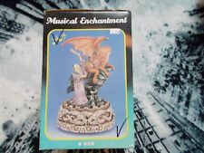 Dragon & Wizard statue figure Musical Enchantment Series: new rare original item