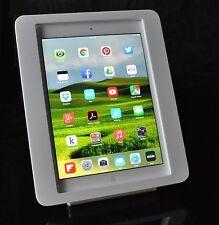 iPad 2 3 4 White VESA Security Enclosure for Kiosk POS Store Show Display Square