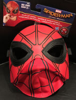 MARVEL SPIDERMAN Children's Flip-up Costume Fantasy Play Mask / New