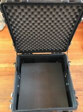SKB Case iSeries 2222-12 w/ Non-Cube Foam & Wheels Handle USED electronic hard