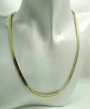 VIntage Lovely Gold Gilded Silver Snake Link Necklace