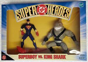 SUPERMAN DC SUPER HEROES SUPERBOY vs KING SHARK ACTION FIGURE TWO PACK