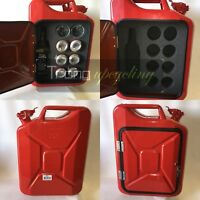 Multibottle Jerry Can Mini Bar,Picnic,Camping, Camper,VW,4x4,Drinks Cabinet,Red
