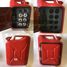 The New Jerry Can Mini Bar, Picnic, Camping, Camper,VW,4x4,Drinks Cabinet,Red