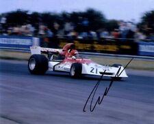 Niki Lauda BRM P160E British Grand Prix 1973 Signed Photograph *With Proof*