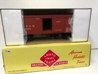 Aristocraft 86001 - US-Güterwagen Wood Box Car - Rio Grande D&RGW