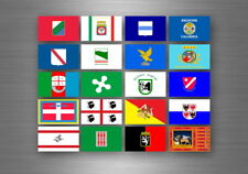 Flag sheet sticker labels country subdivisions states province italy italia
