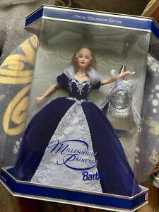 Special Edition Millennium Princess 2000 Collector Barbie Doll New In Box